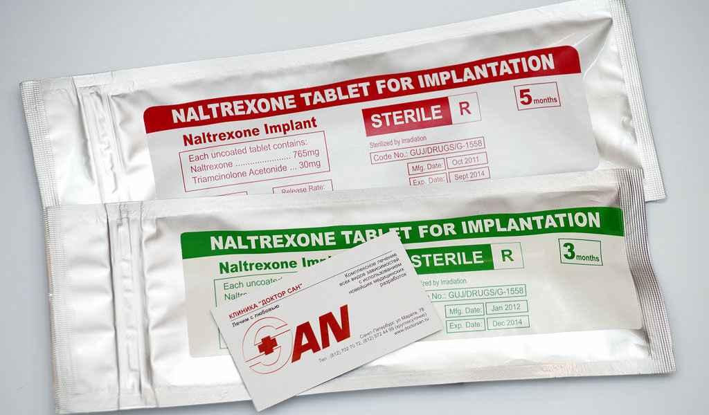 Имплантация Налтрексона в Давыдково цена